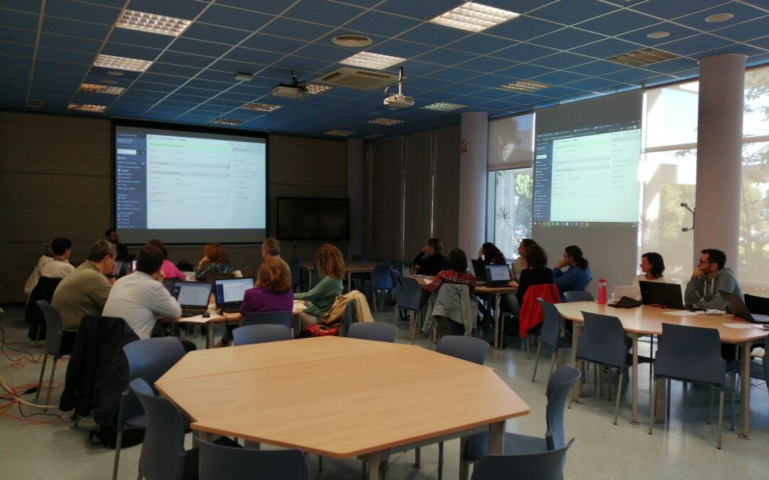 Omeka Training at the University of Cádiz